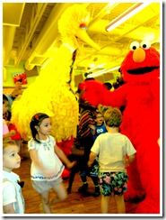 dancing with elmo and friends