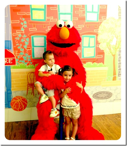 elmo and kids