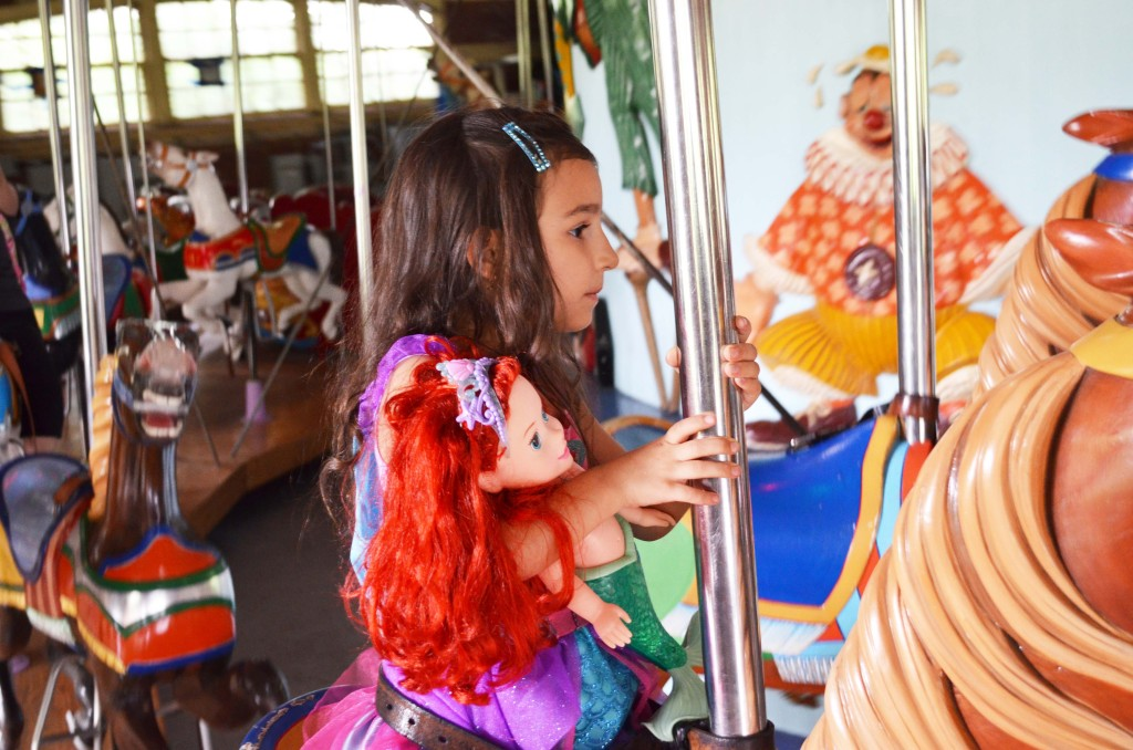 Ariel on the Central Park Carousel #shop