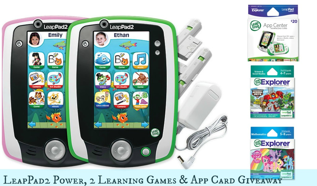 LeapFrog LeapPad2 Power Giveaway