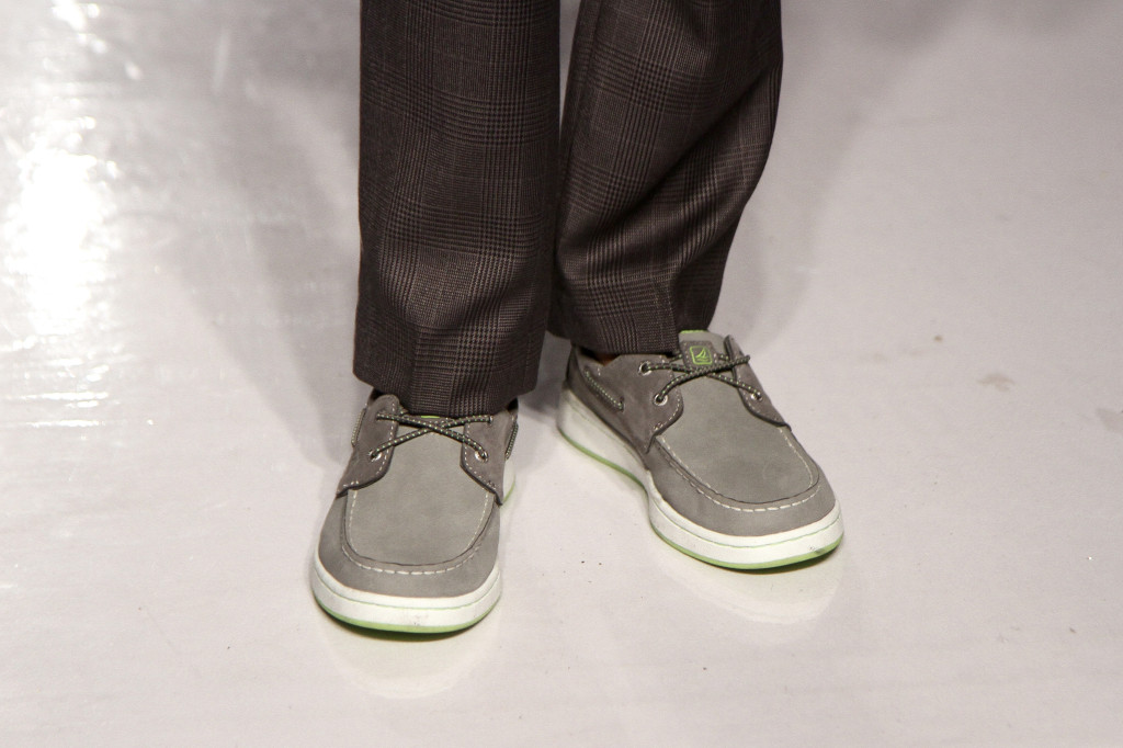 Sperry Top-Siders were also my favorite option for boys.  The subtle pops of neon are a fun twist.