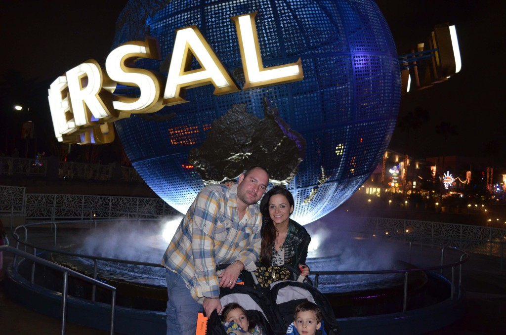 Family vacation at Universal Orlando