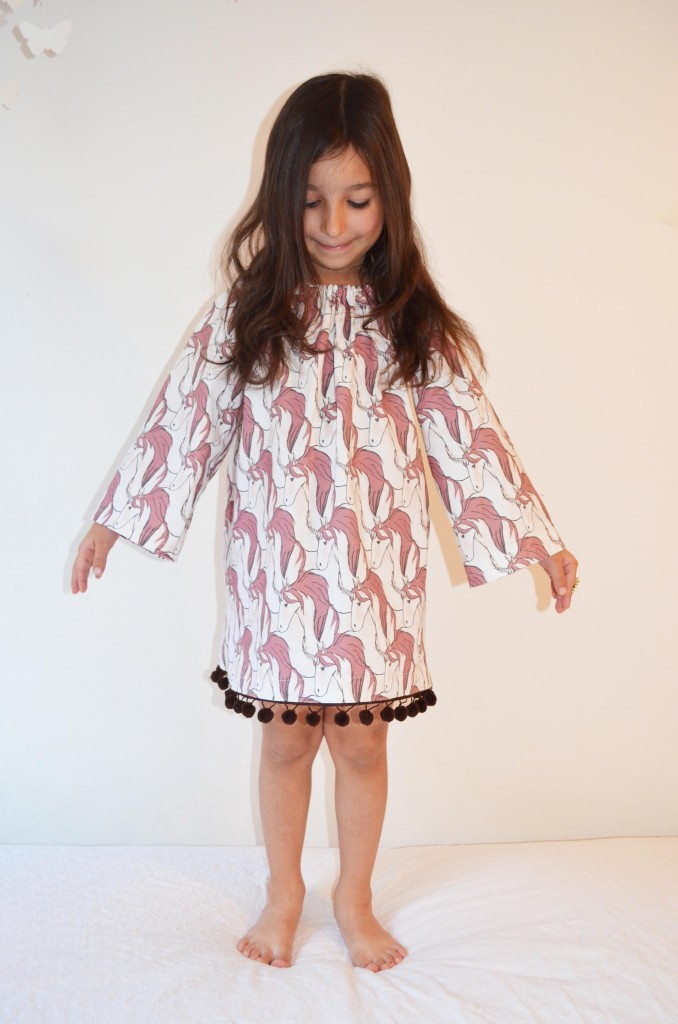 Unicorn-Dress-homemade-DIY-pony-dress