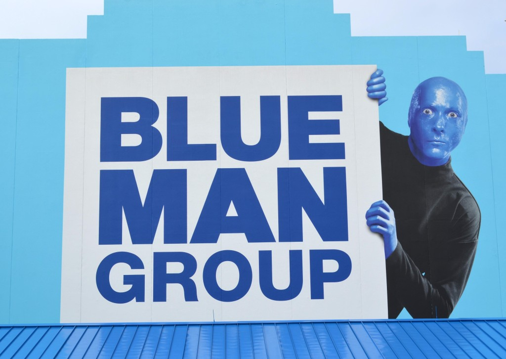 universal studios orlando blue man group