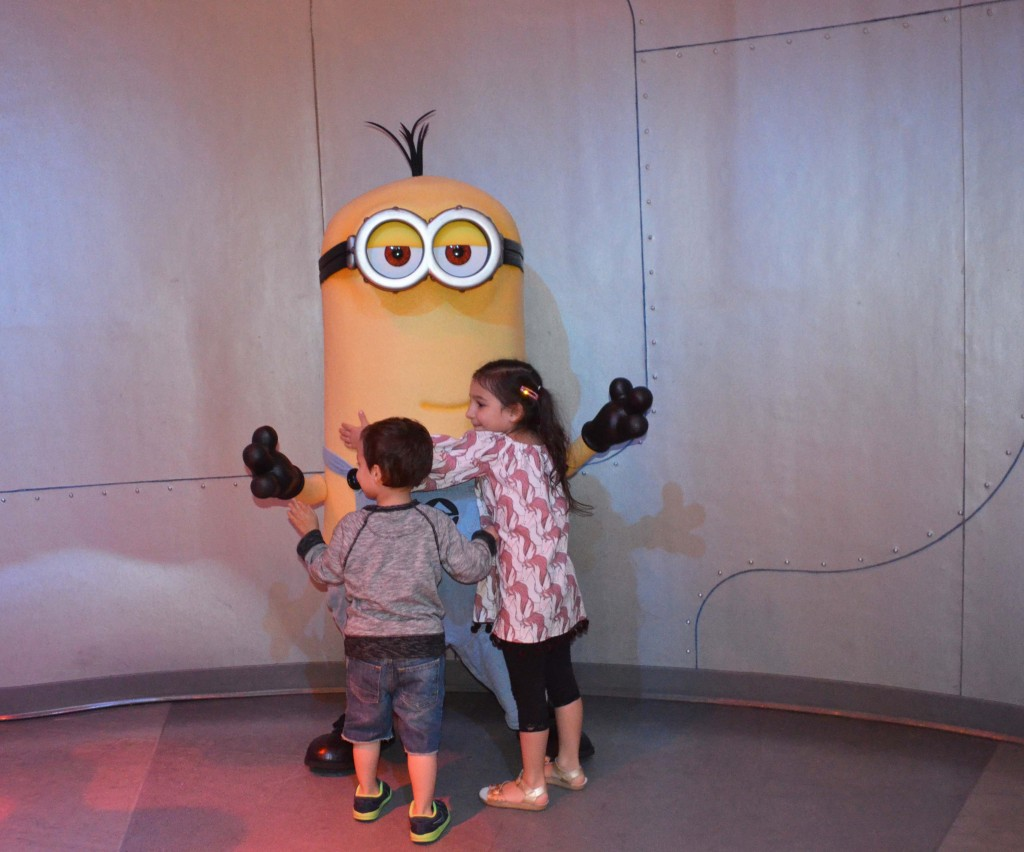 meeting a minion