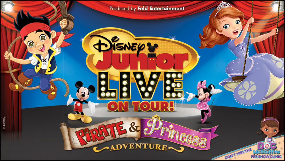 Dinsey Junior Live Pirates and Princess Adventure