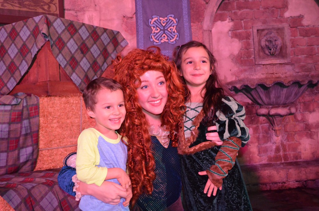 brave merida at disney