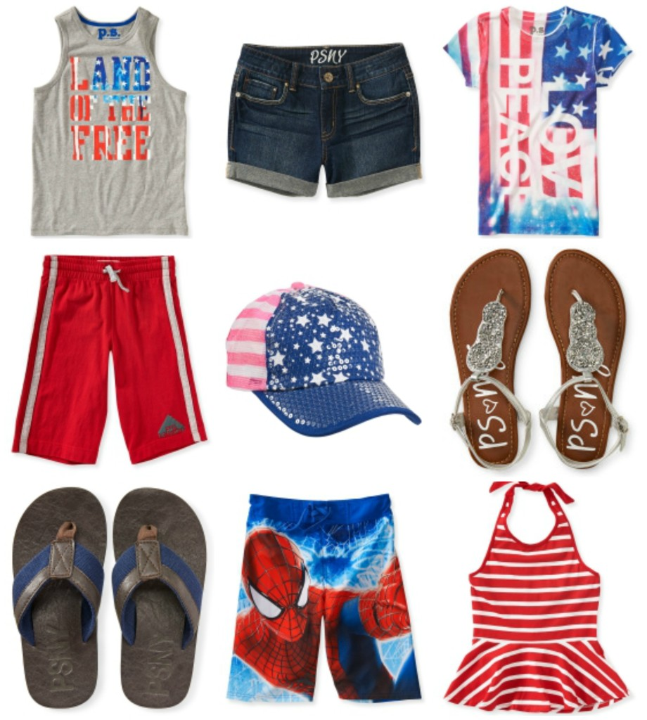 july 4th clothes, summer clothes for kids, p.s. from aeropostale