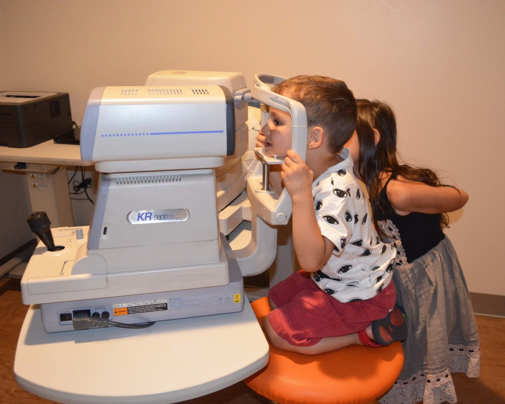 Lens Crafters back to school