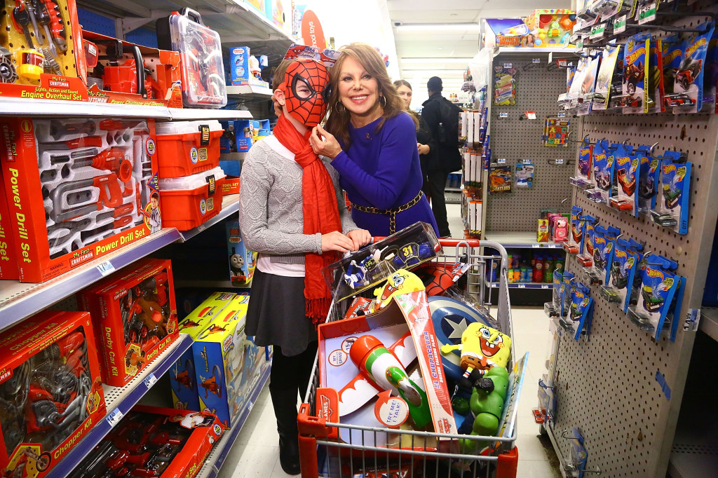 Kmart Welcomes Marlo Thomas And St. Jude Patients For Thanks & Giving Holiday Shopping Spree