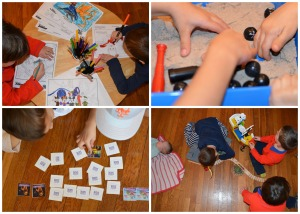 preschool party games