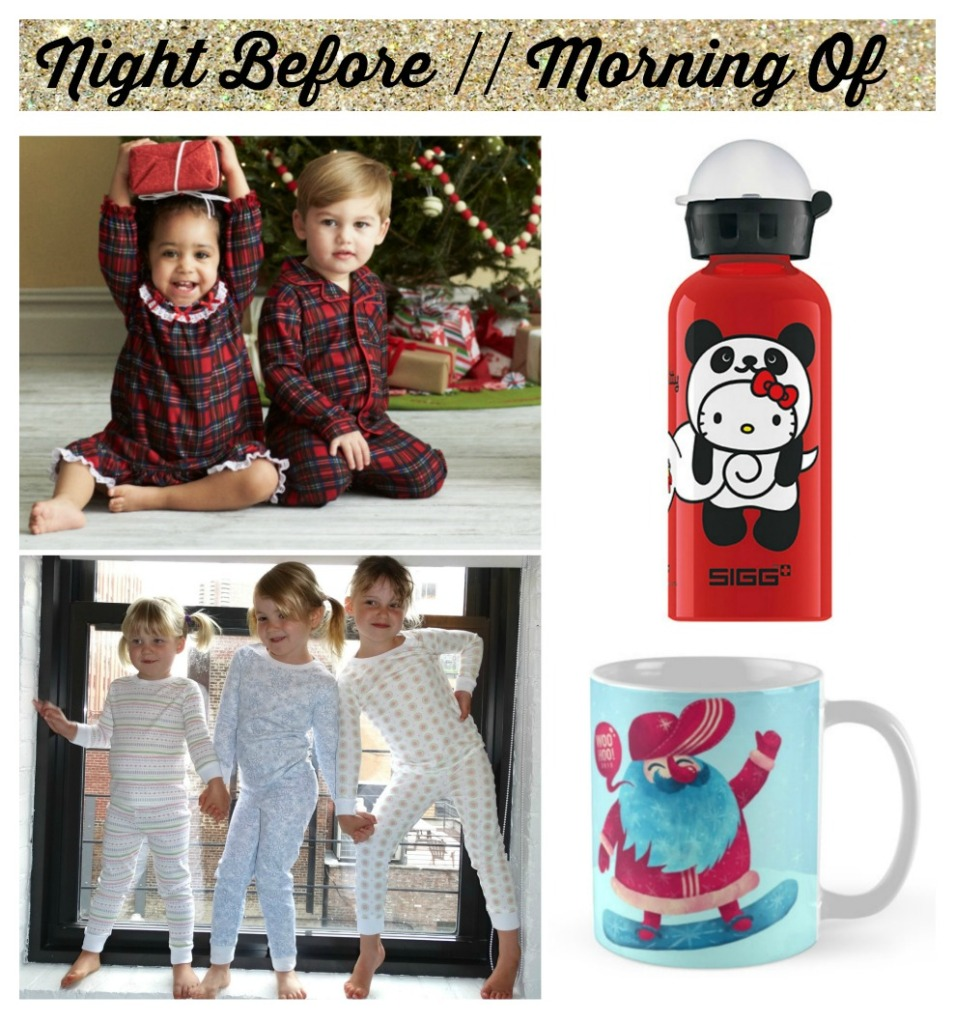 kissy kissy and little me pajamas sigg waterbottle red bubble mug