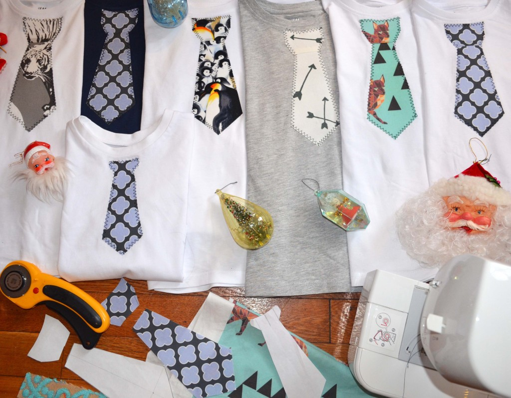 how to make a tie t-shirt