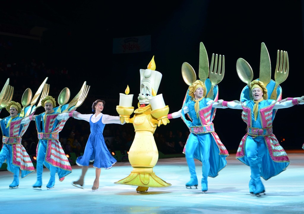 belle disney on ice