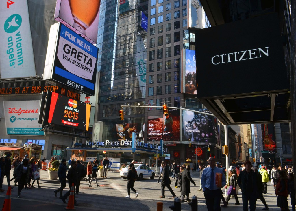 citizen watch store times square