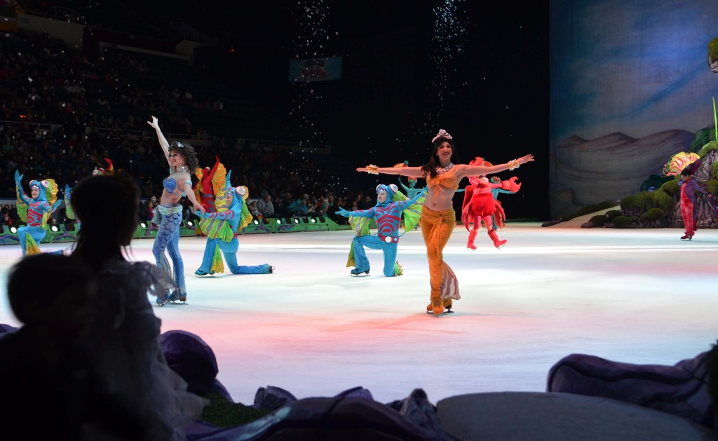 front row seating at Disney on Ice Review