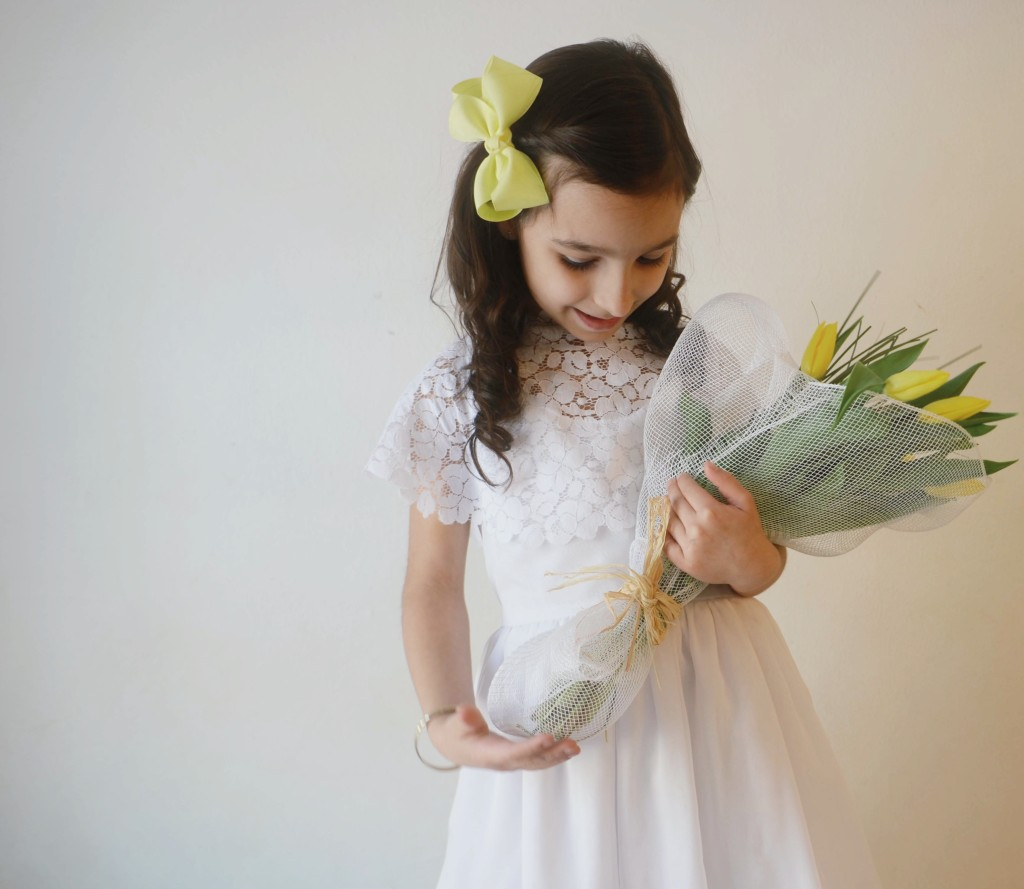 Easter spring communion  girls dress
