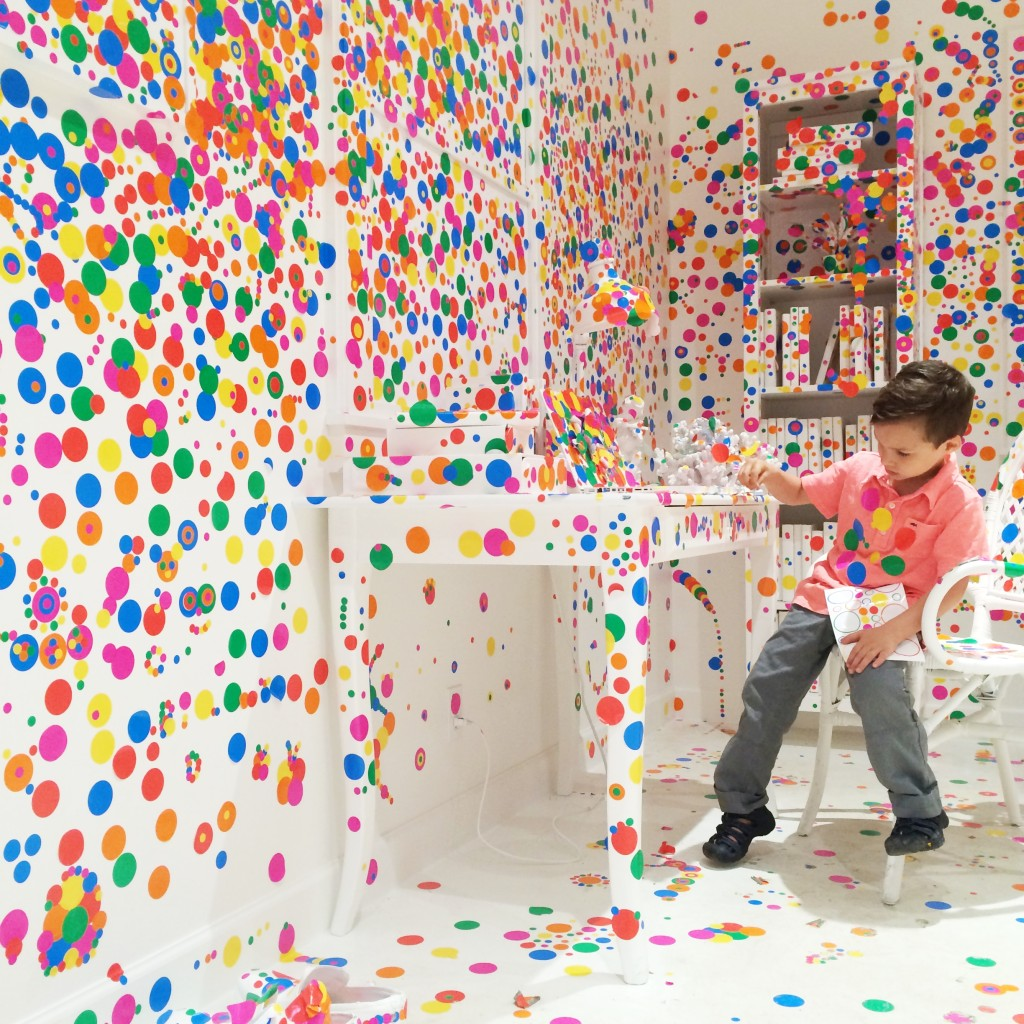 Yayoi Kusama S Obliteration Room At David Zwirner Gallery