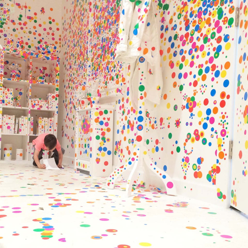 Yayoi Kusama The Obliteration Room