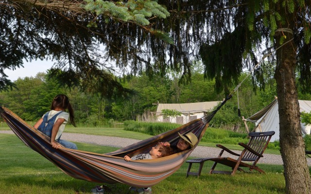 Family Glamping at Firelight Camps