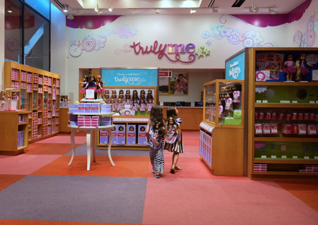American Girl doll store NYC