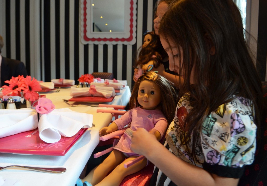 american girl store dining