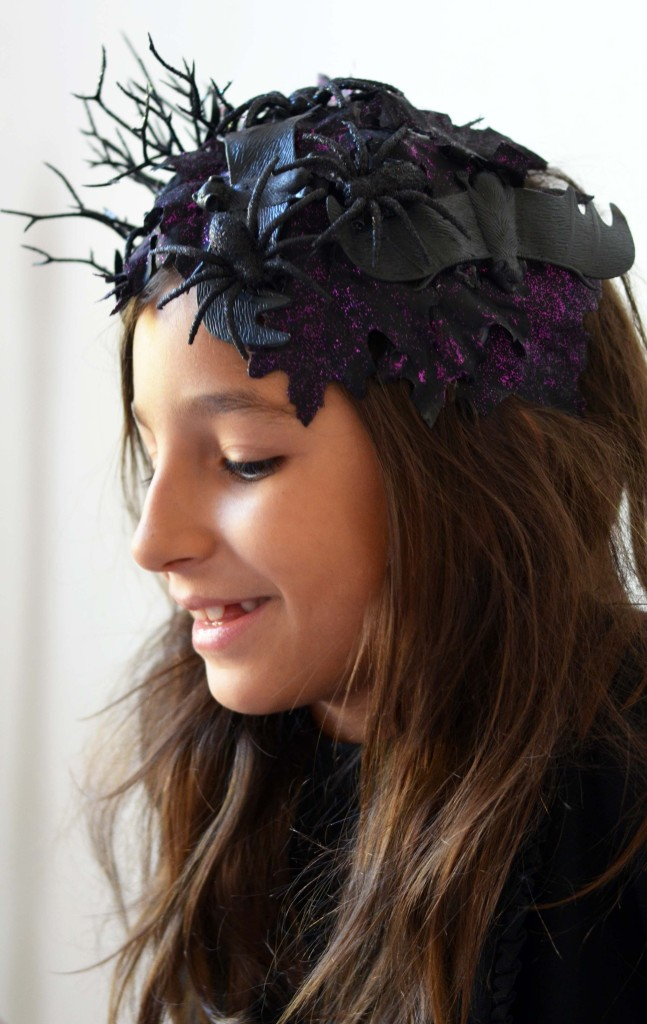 DIY Spooky Headband