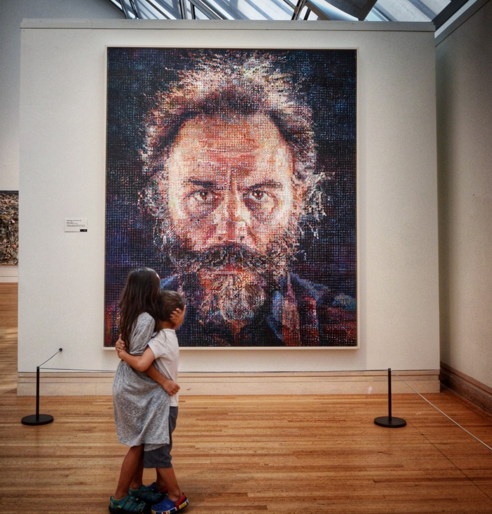 Metropolitan Museum of Art Chuck Close