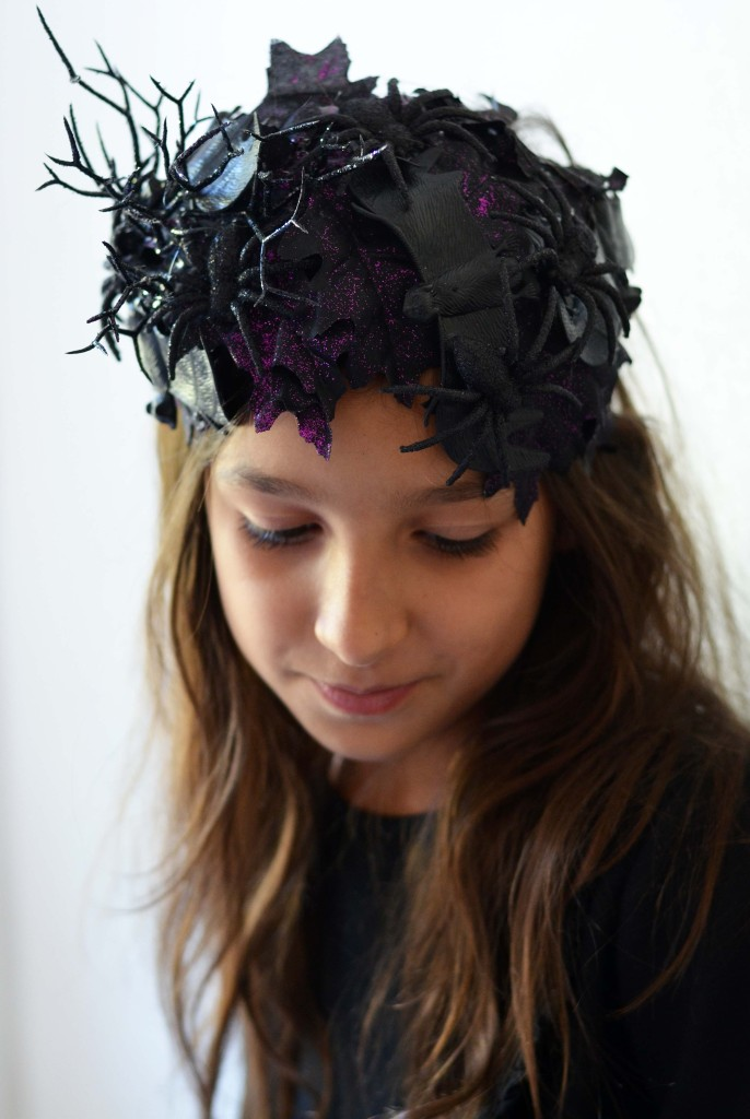 Halloween Headband Headpiece DIY