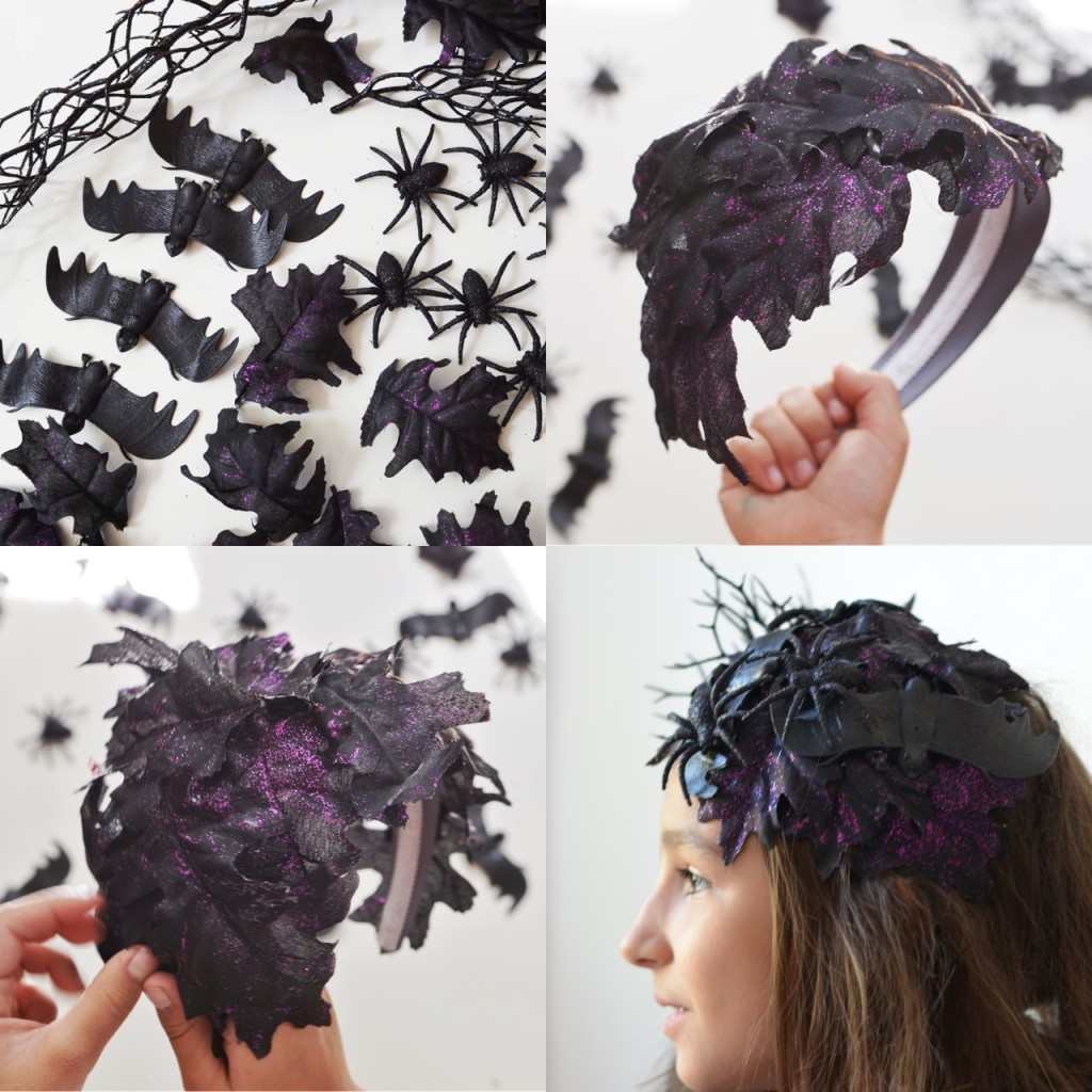Halloween Headpiece tutorial DIY