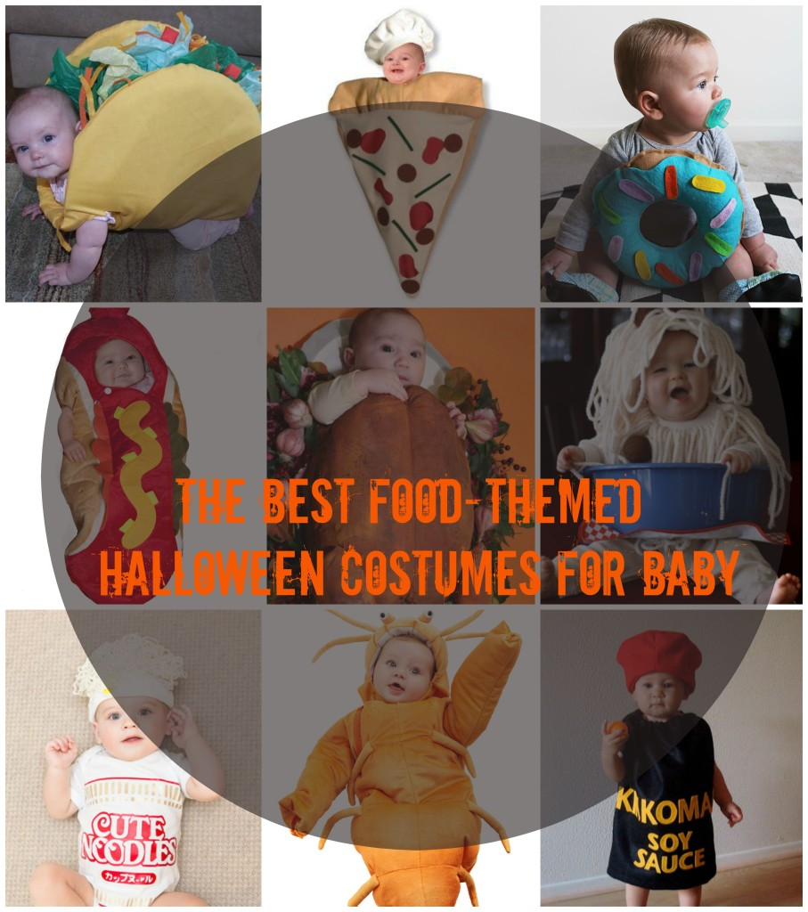 Funny Food Baby Costumes