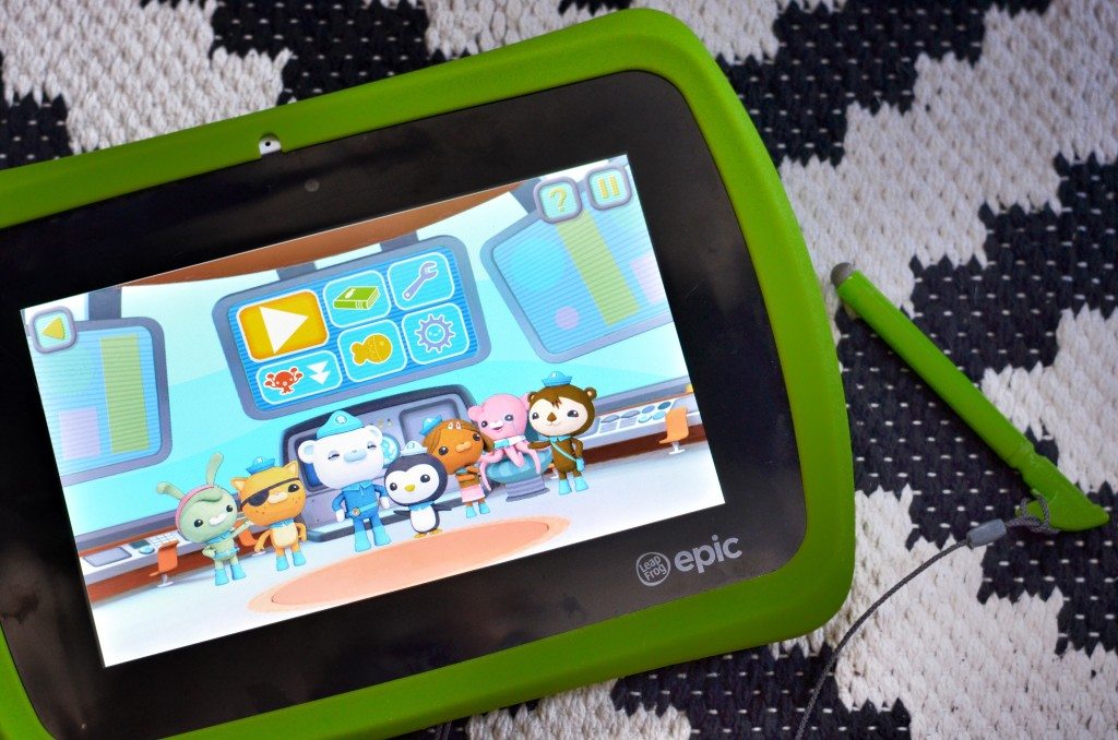LeapFrog Epic Android Tablet Review | MarinoBambinos