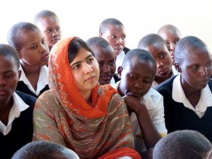 A Phone Call With Malala