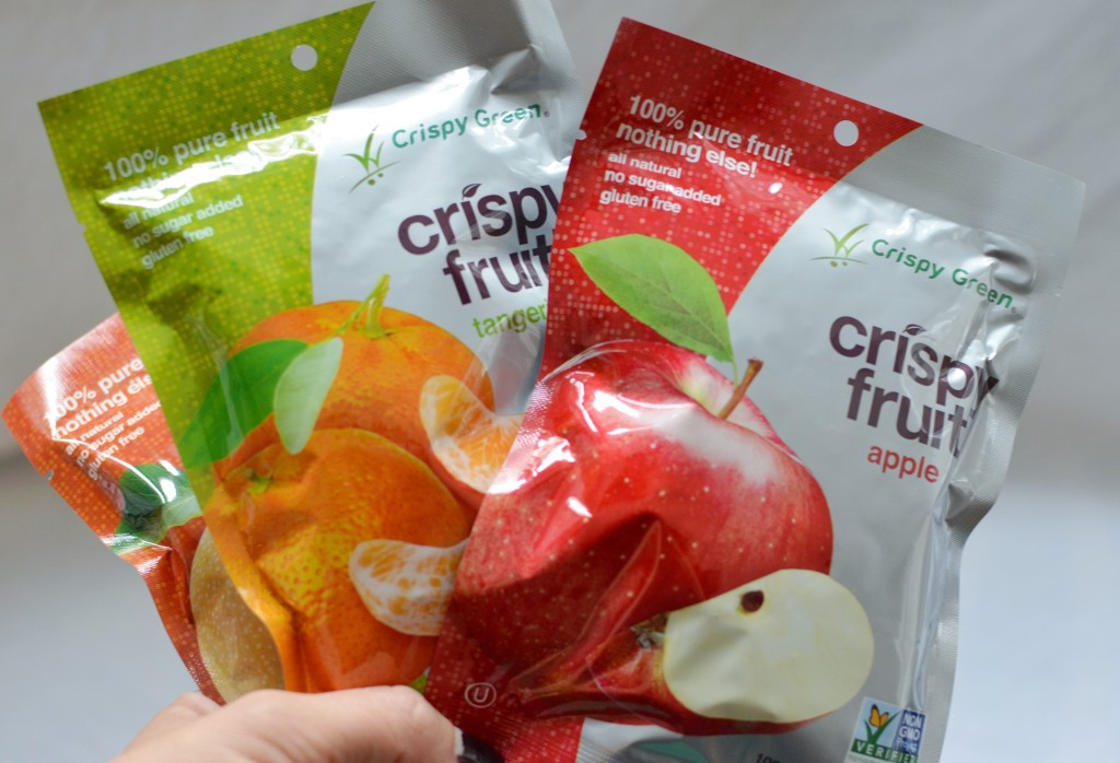 Crispy Green Healthy Natural Fruit Snacks