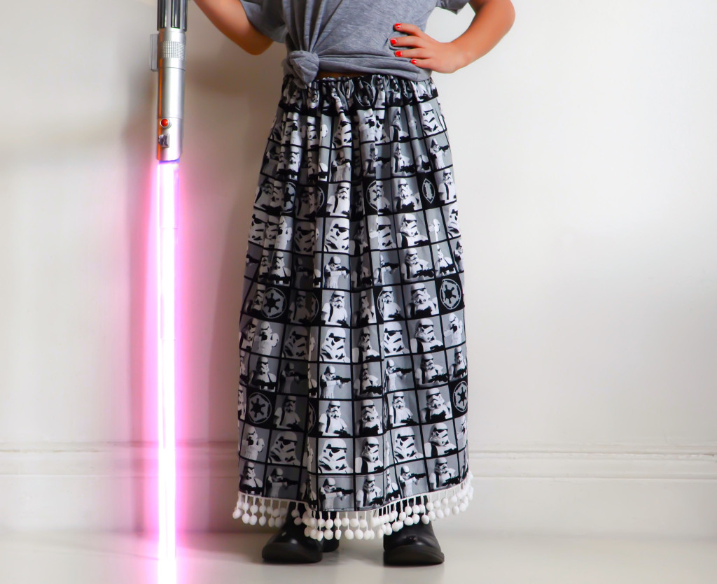 DIY Star Wars Skirt