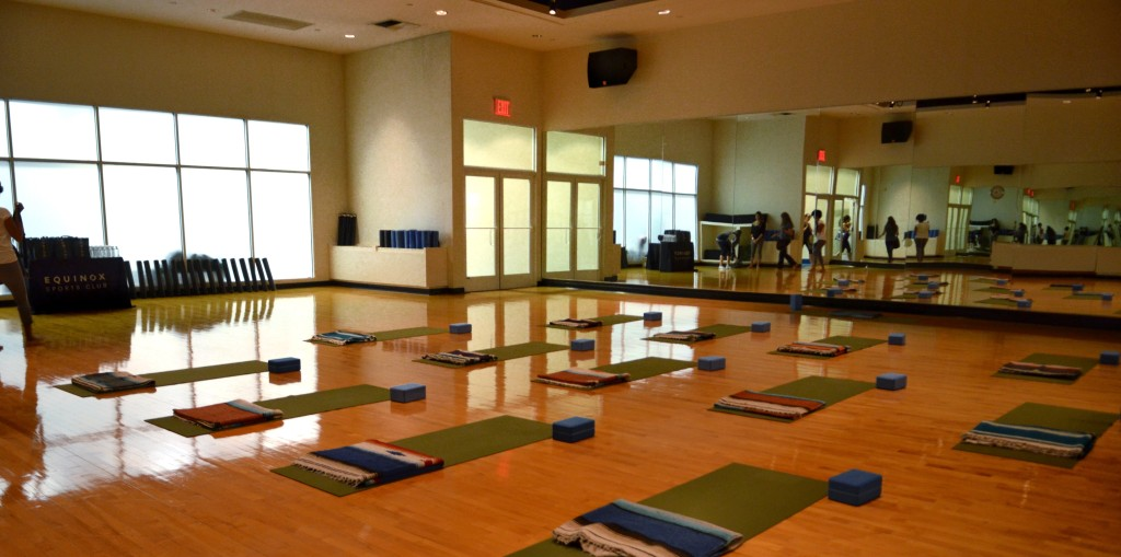 yoga classes Equinox