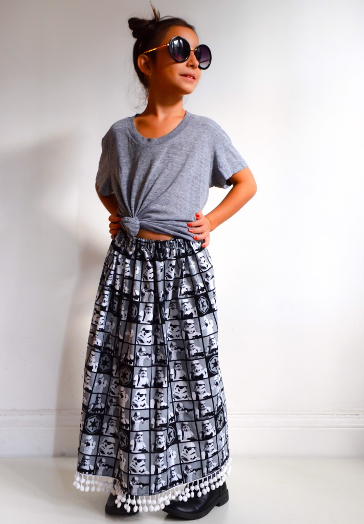 Star Wars Simple Maxi Skirt DIY