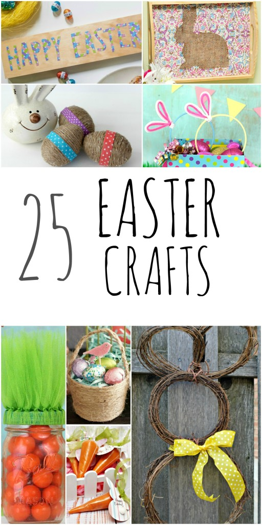 DIY Easter Bunny Crafts Projects Homemade Gifts For Kids