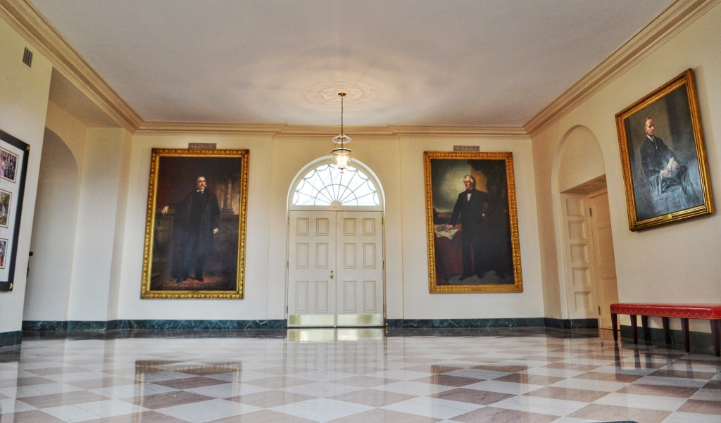 white-house-Let's-move-event-Presidents-portraits
