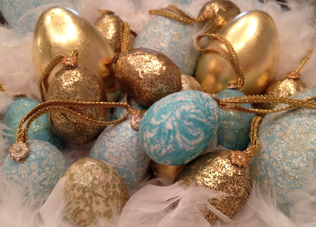 DIY-gold-leaf-easter-eggs-Modge-Podge
