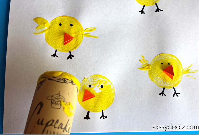 Easter-chick-kids-craft