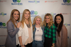 Sucess is Calling event with TracFone and Dress for Success