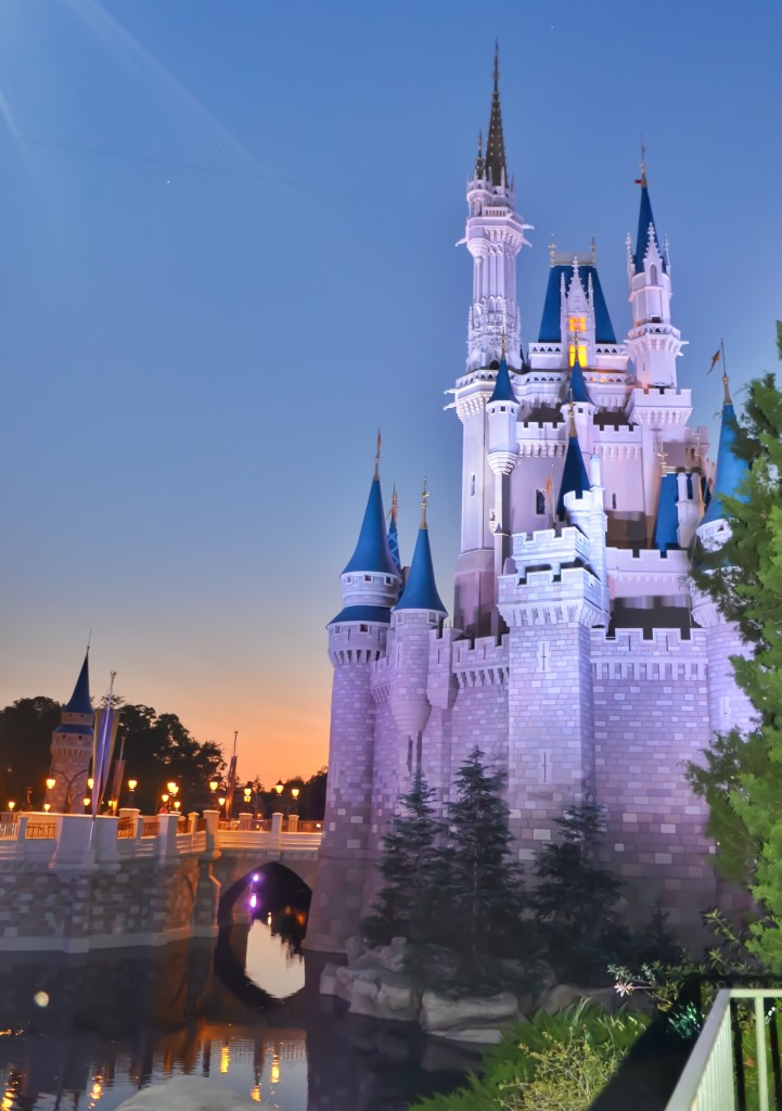 Magic-Kingdom-Castle-Night