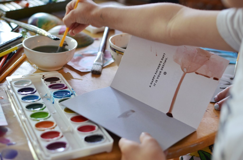 Father's-Day-Card-painting
