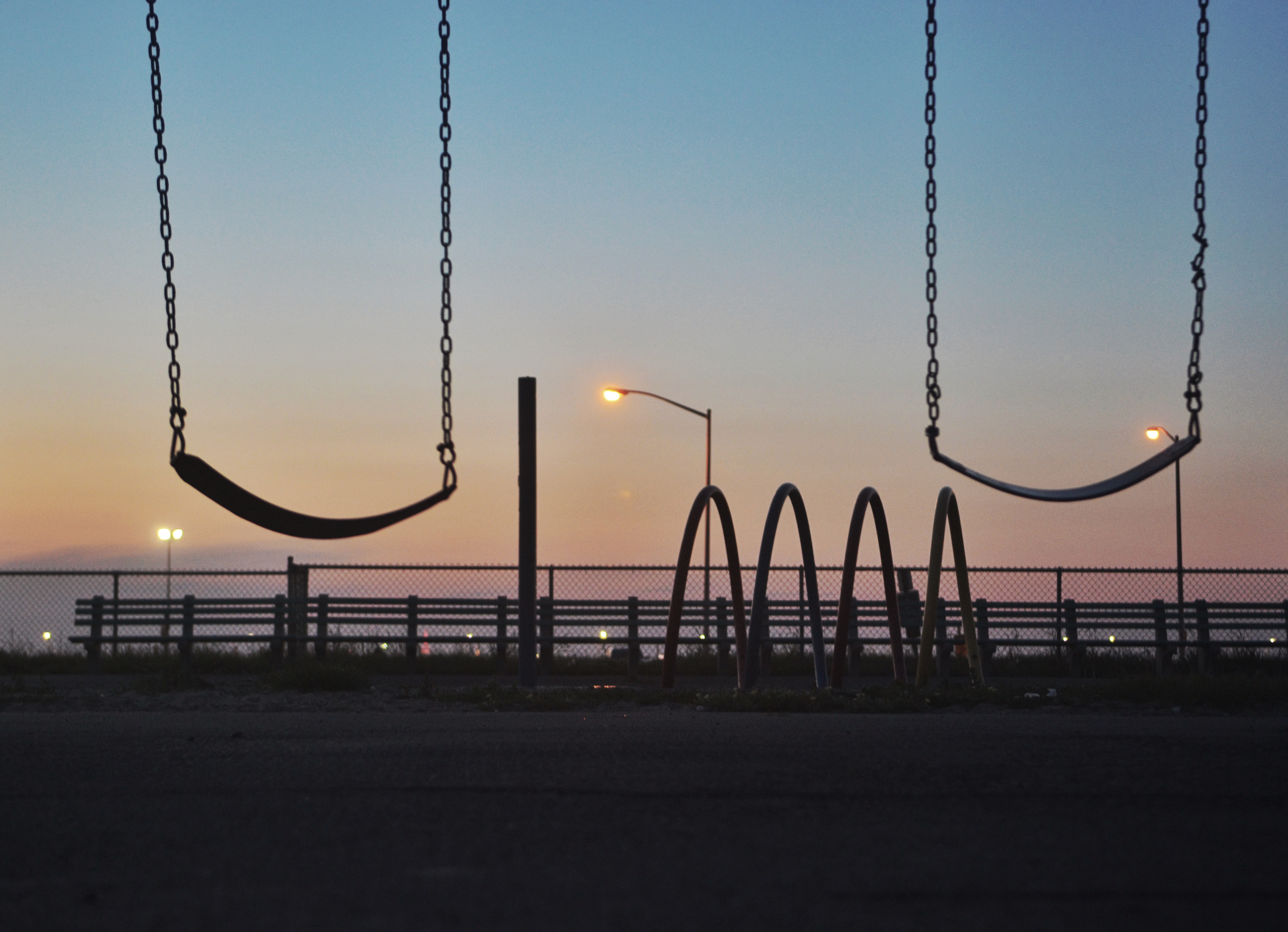 Swings Sunset