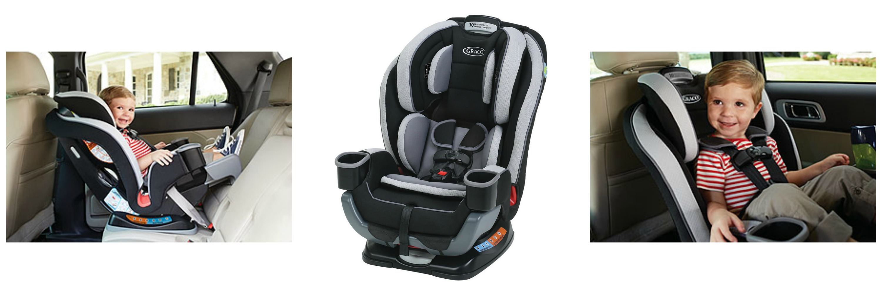 Graco Extend2Fit 3 in 1 CarSeat