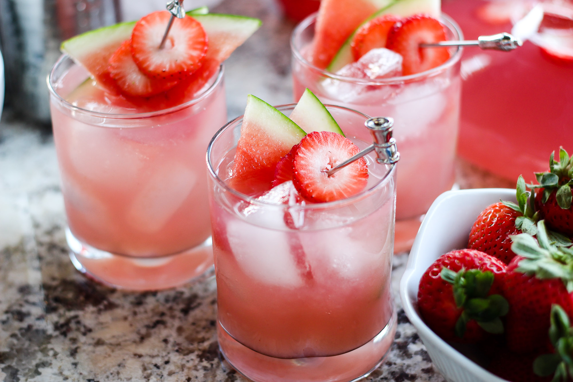 watermelon-strawberry-cocktail- recipe