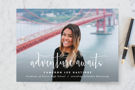 Minted-graduation-announcement