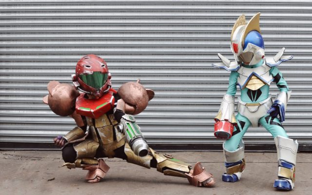 Dad Made: Nintendo Samus Aran & Megaman X Halloween Costumes DIY