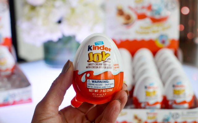 Introducing Kinder Joy: These Coveted Kinder Eggs Have Finally Come to the US